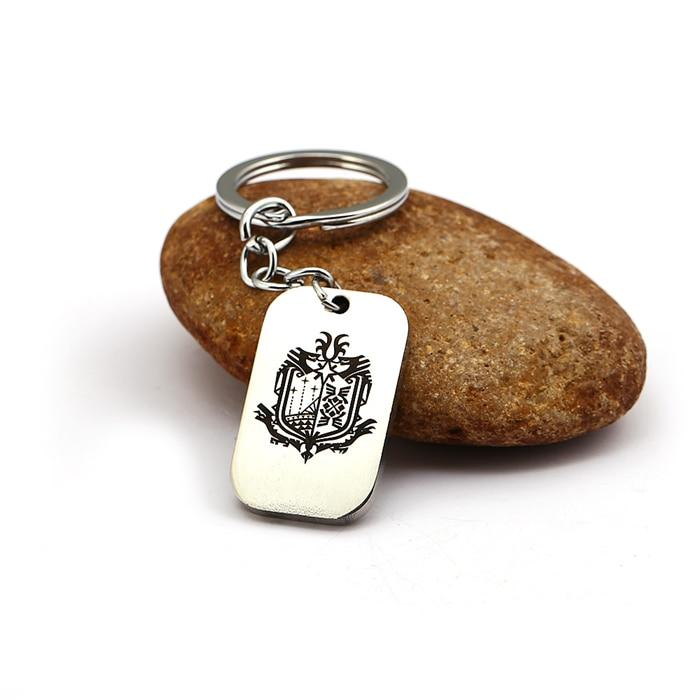 Game Monster Hunter WORLD Keychain Keyrings MHW Nergigante Guild Logo  Keychain Fan Souvenir Gift Charm Cosplay Jewelry