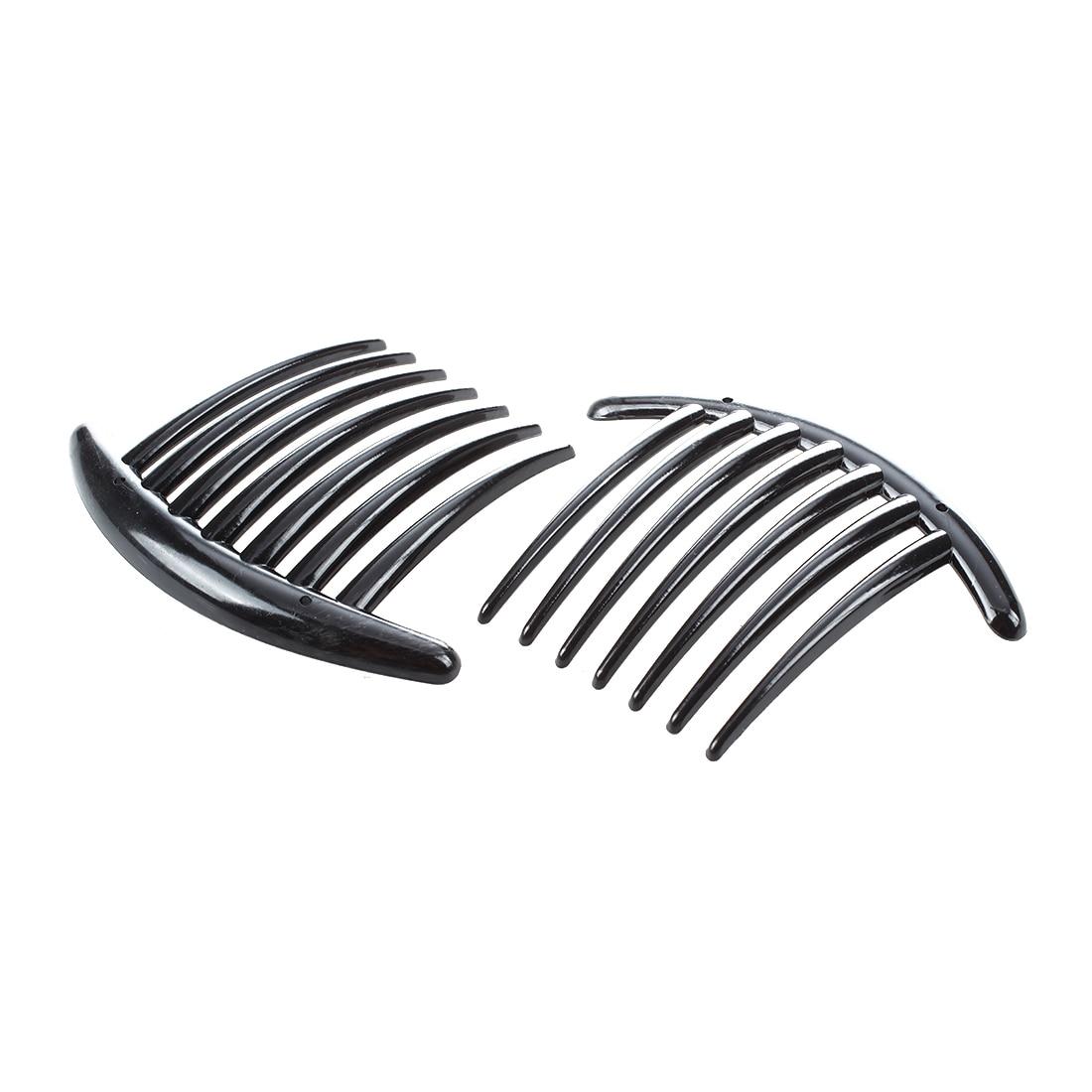 HTHL 2pcs Hair Comb Pin Accessories Plastic Women Lady