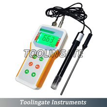 Microcomputer-based PHB-4 PH Meter Automatic Temperature Compensation PH Monitor Tester Range:0.00~14.00pH Accuracy:+-0.01pH ATC amt01 waterproof ph orp temperature meter with ph range 2 16 00ph