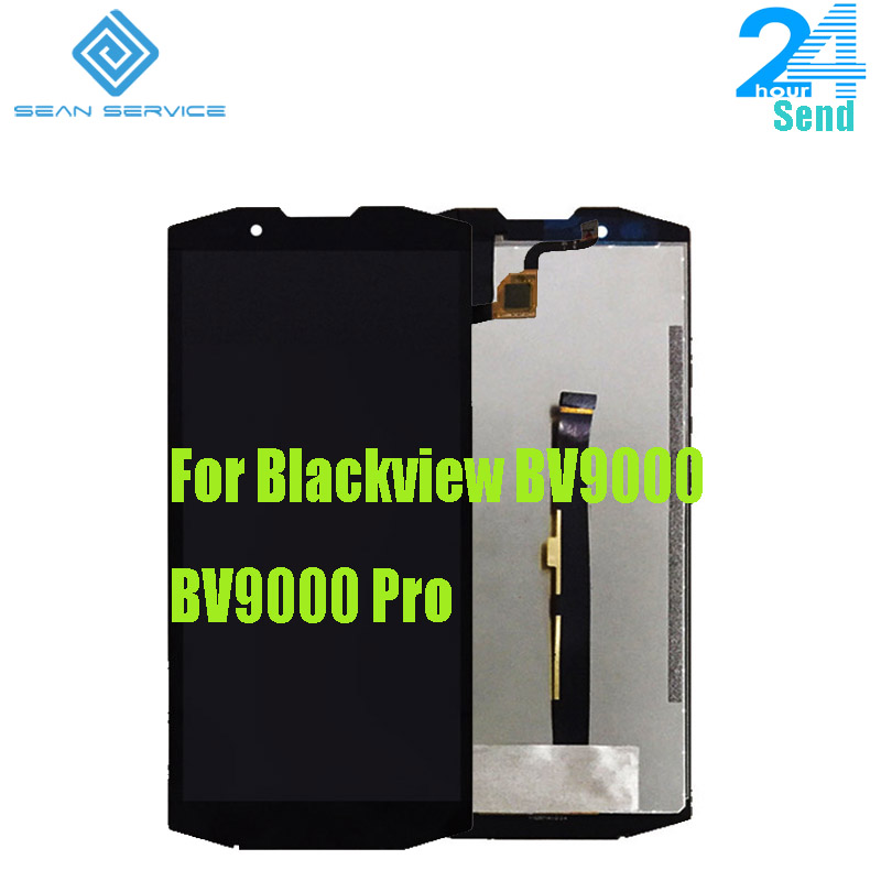 For Original BLACKVIEW BV9000 BV9000 Pro LCD Display With Touch Screen Digitizer Assembly Replacement Parts HTT057F053-A0For Original BLACKVIEW BV9000 BV9000 Pro LCD Display With Touch Screen Digitizer Assembly Replacement Parts HTT057F053-A0