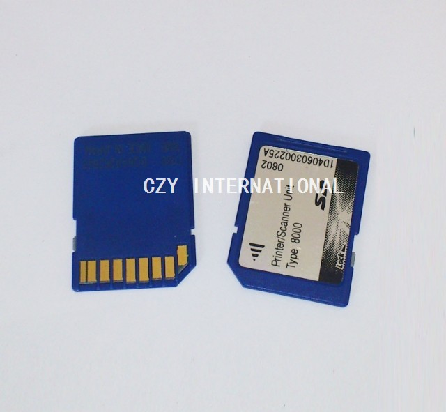 For Richo 8000 SD card MP8000 printer kit scanner card