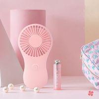Mini ventilador de bolso portátil ar fresco à mão viagens cooler refrigeração mini ventiladores de energia por 3x aaa bateria escritório ao ar livre casa mini ventilador|Vent.| |  -