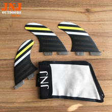 JNJ brand new surfboard fins FCS II G5 fins fcs2 M thruster with JNJ bag