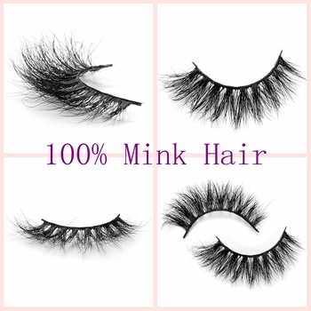1 Set 100% Mink Hair 3D False Eyelashes Soft Long Fluffy Natural Thick Makeup Crosscriss Multilayer Eye Lashes Extension Tools False Eyelashes