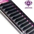 1 étui toutes tailles JBCD Extensions de cils vison noir faux naturel faux cils Curl