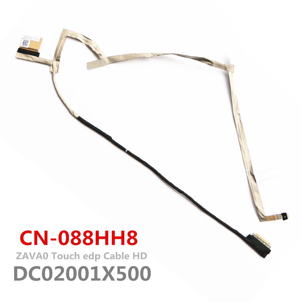 New Original ZAVA0 DC02001X500 Lvds Cable For Dell Inspiron 5547 Lcd Lvds Cable Touch CN-088HH8