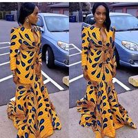 African Dresses for Women Bazin Riche Cotton African Ankara Dresses Wax Print Dress Traditional African Clothing Danshiki