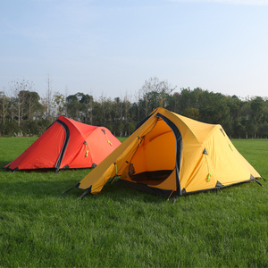 Hillman Large Camping Tent 2-3 Person Ultralight Tents Outdoor Double-Layer 20D coated silicon PU10000mm Hiking tent