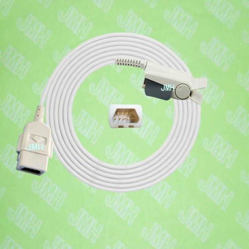 Compatible with Datex-Ohmeda Pulse Oximeter monitor, Adult finger clip spo2 sensor, 9PIN,Nellcor clip.Compatible with Datex-Ohmeda Pulse Oximeter monitor, Adult finger clip spo2 sensor, 9PIN,Nellcor clip.