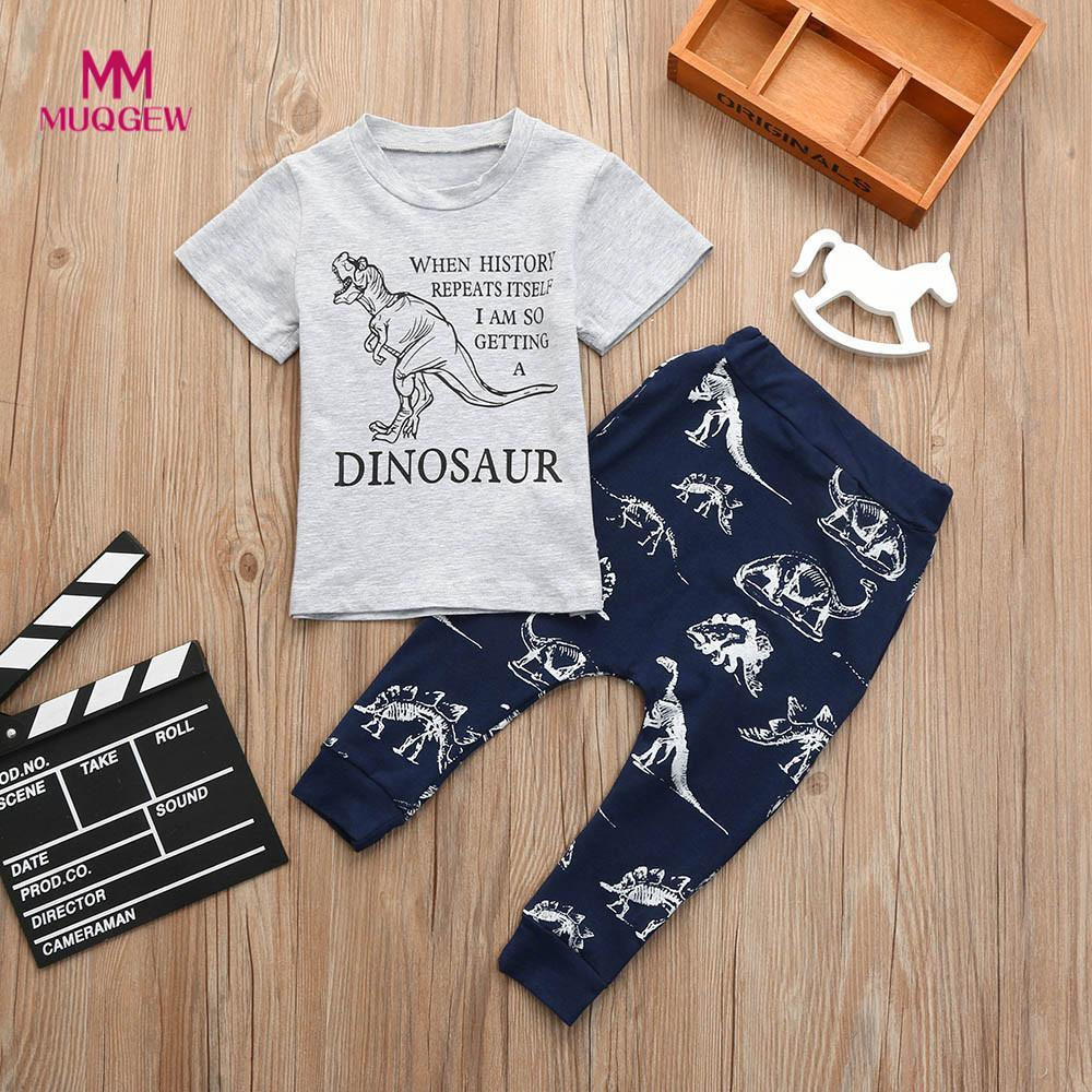 Childrens clothes set Toddler Kids Baby Girls Letter Dinosaur Print Tops T Shirt Shorts Outfits Set Boys clothing drop shippingChildrens clothes set Toddler Kids Baby Girls Letter Dinosaur Print Tops T Shirt Shorts Outfits Set Boys clothing drop shipping