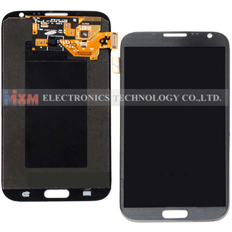 LCD Display Screen Digitizer For Samsung Galaxy Note2 I605 I317 T889 N7100 Gray