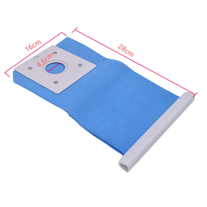 Azul aspirador de pó reutilizável samsung DJ69-00420B, peça para automóveis, grande capacidade, saco removível, 1 peça