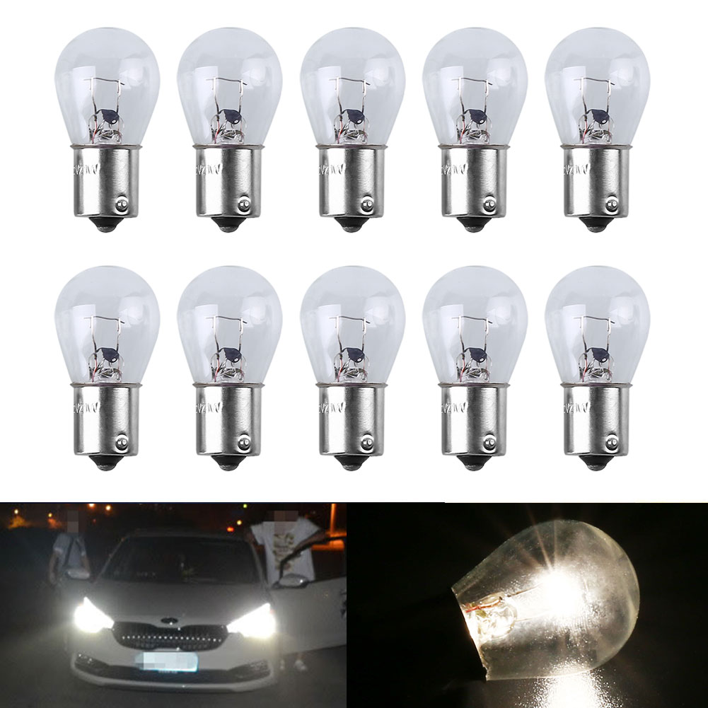 5Pcs 1156 Car Signal Light Bulb White Wedge Shape Mini Universal Durable High Quality DC 12V Car-styling For Audi BMW Bnez Ford