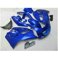Обтекатель комплект, пригодный для Suzuki srad GSXR 600 GSXR 750 1996 2000 Цвет синий, черный; Большие размеры 34–43 Обтекатели 96 97 98 99 00 пластиковые части hcg0