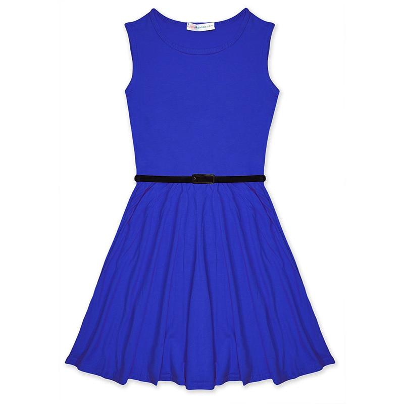100 Cotton Girl font b Dress b font Summer Vest font b Dresses b font For