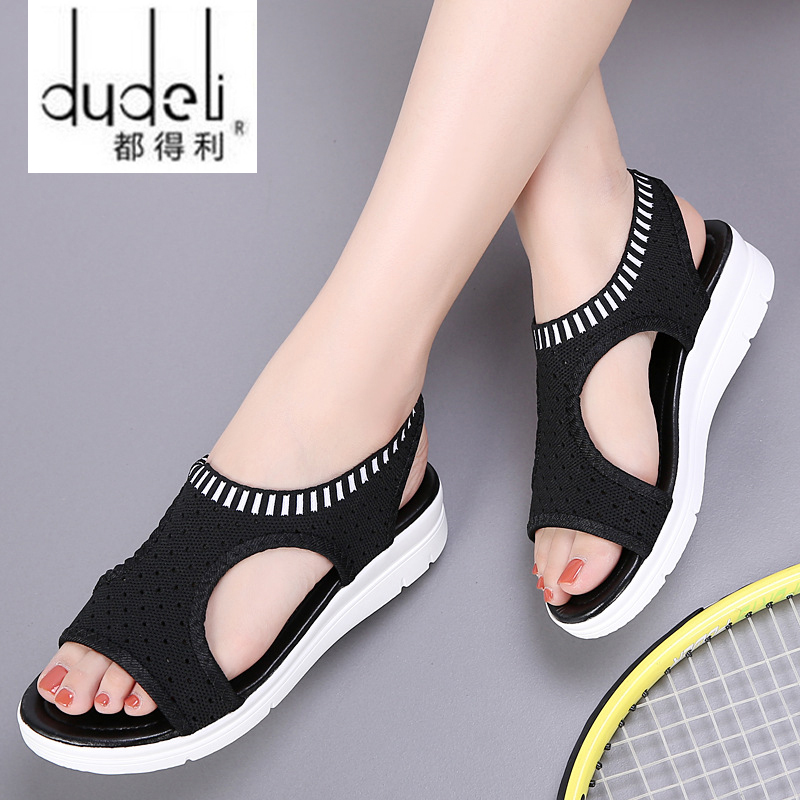 DUDELI New fashion women sandals summer new platform