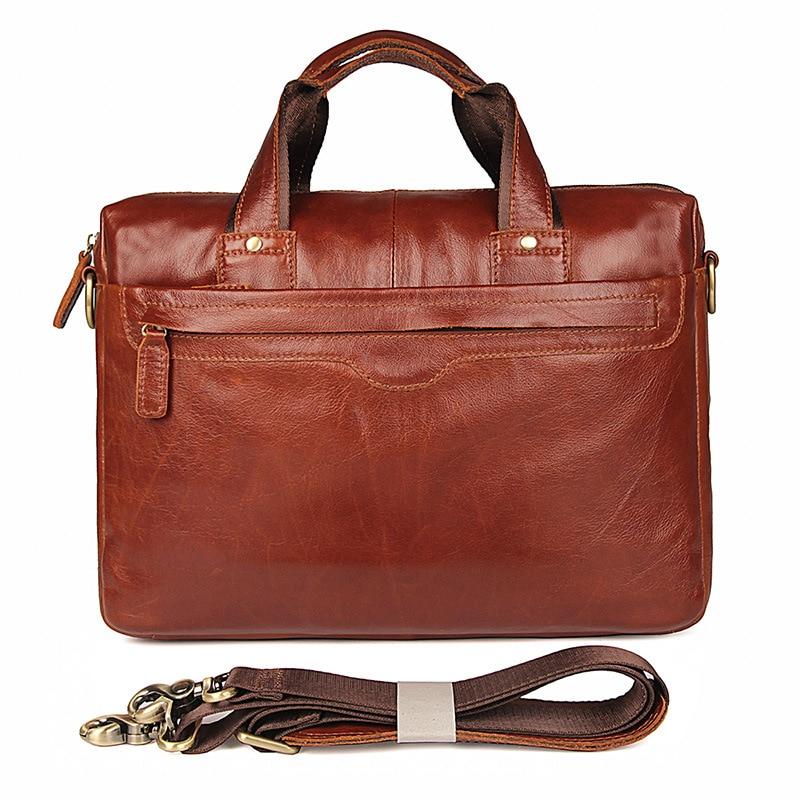 Computer Briefcase Man Bag Single-Shoulder-Oblique-Bag Luxury New The Retro First-Layer