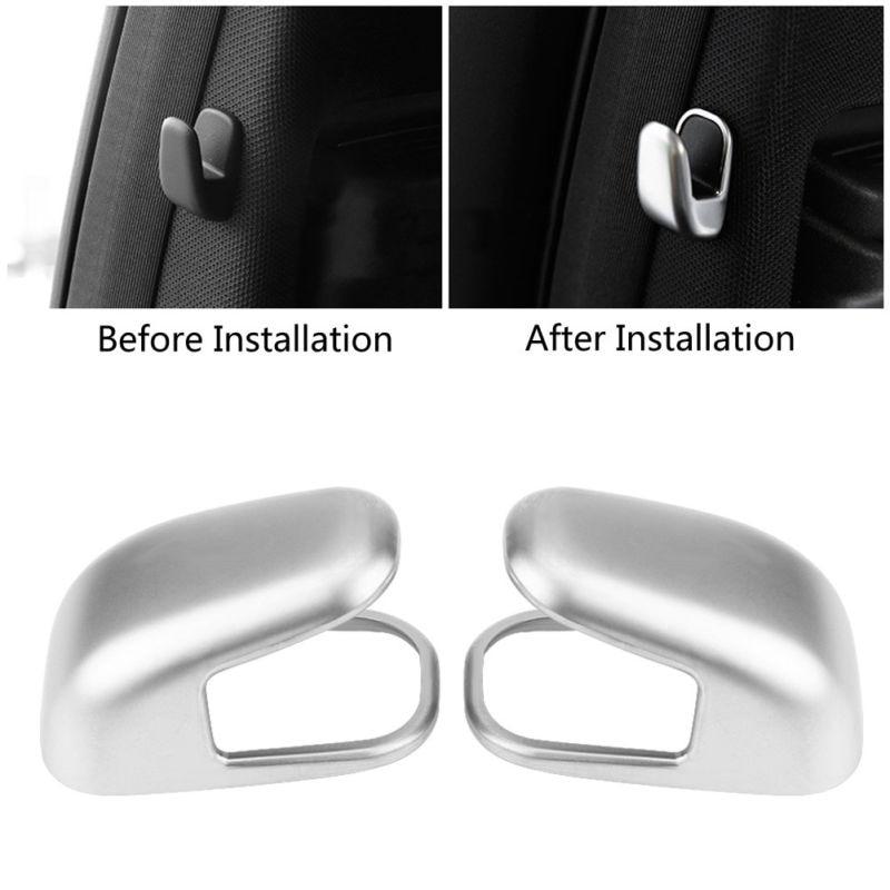 Carbon Leather Remote Key Cover Glove For Mercedes W204 W176 W164 W212 W117 CLA