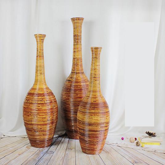 Christmas Large Bamboo Floor Vase