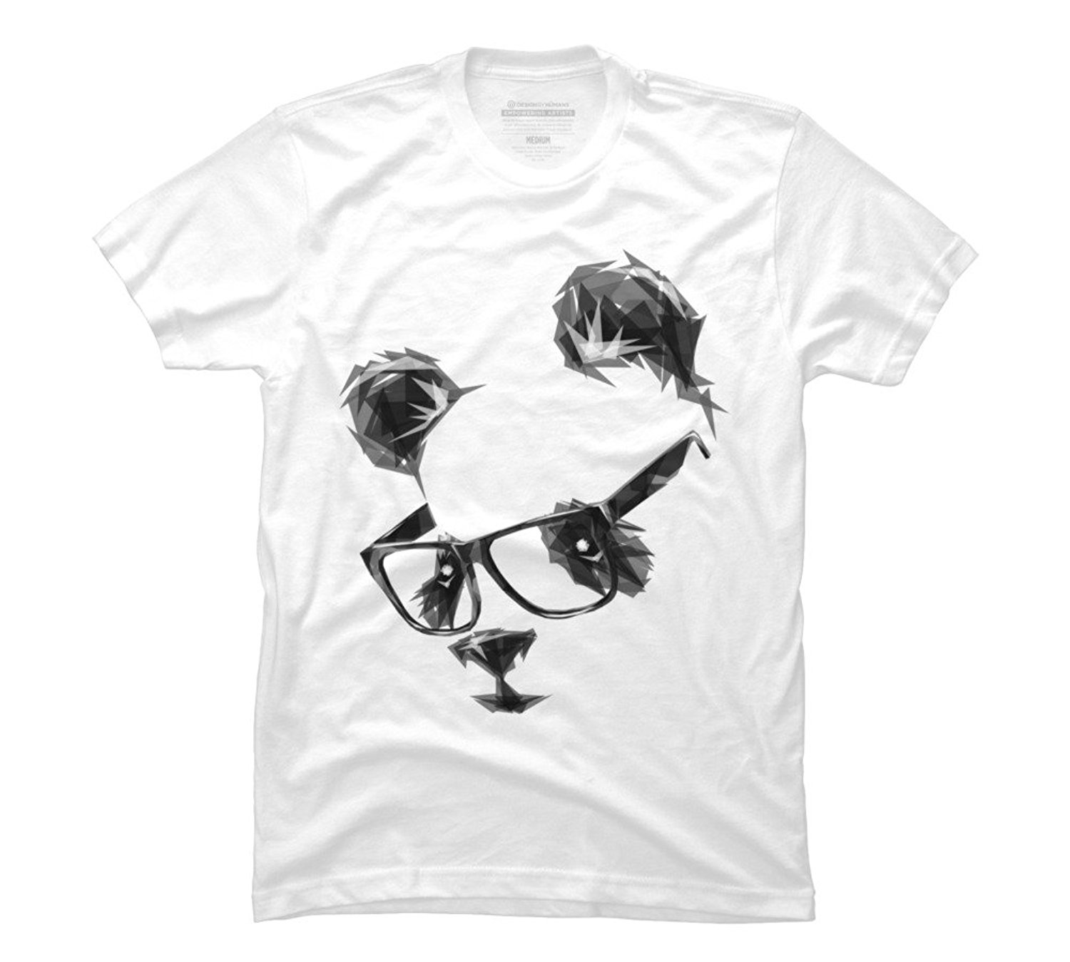 Cool Panda Men's Graphic T Shirt - Design By Humans 100% Cotton T-Shirts Brand Clothing Tops Tees Customize Plus Size