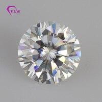 2ct D цвет 8 мм бриллиантовая огранка ВВС круглой формы Тест Положительный искусственные бриллианты Круглый Муассанит драгоценных камней Про
