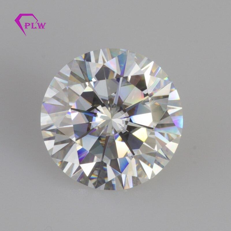 2ct D couleur 8mm taille brillante VVS forme ronde test positif laboratoire cultivé diamants lâche moissanite pierres précieuses Provence bijoux
