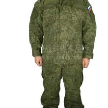 Russian military uniform Woodland digital Camouflage suit Army uniform Men Green