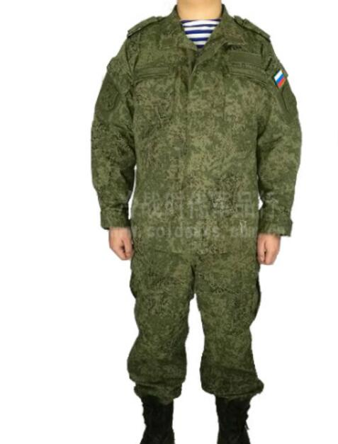 Russian Military Uniform Woodland Digital Camouflage Suit Army Uniform