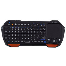 Mini Wireless Bluetooth 3.0 Keyboard Mouse Touchpad for Windows for Android iOS Digital built-in rechargeable lithium battery