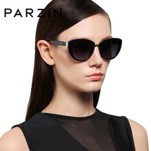 PARZIN Fashion Elegant Women's Sunglasses Style High Quality Brand Designer UV400 Sunglasses Women Polarized Hot Sale цены
