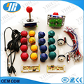 Free shipping Zero delay encoder to PC Control panel+ZIPPY joystick, button,1P 2P button for Jamma arcade game parts
