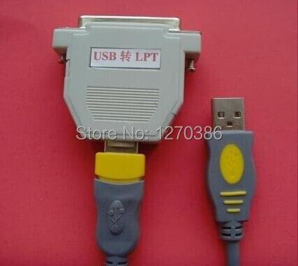 где купить  Free Shipping!!!  USB to Parallel, USB TO LPT USB transfer true parallel port (supports simulation debugging download control)  по лучшей цене