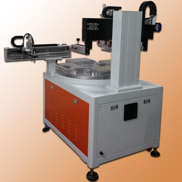 Turntable Silk Screen Printing Equipment, Serigraphy Printing Machine, Automatic Serigraphy Printing Machine Machinery