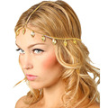SunWard Women Leaf Tassels head chain headband headbands for women wedding headpiece Hairband Jewelry Gift