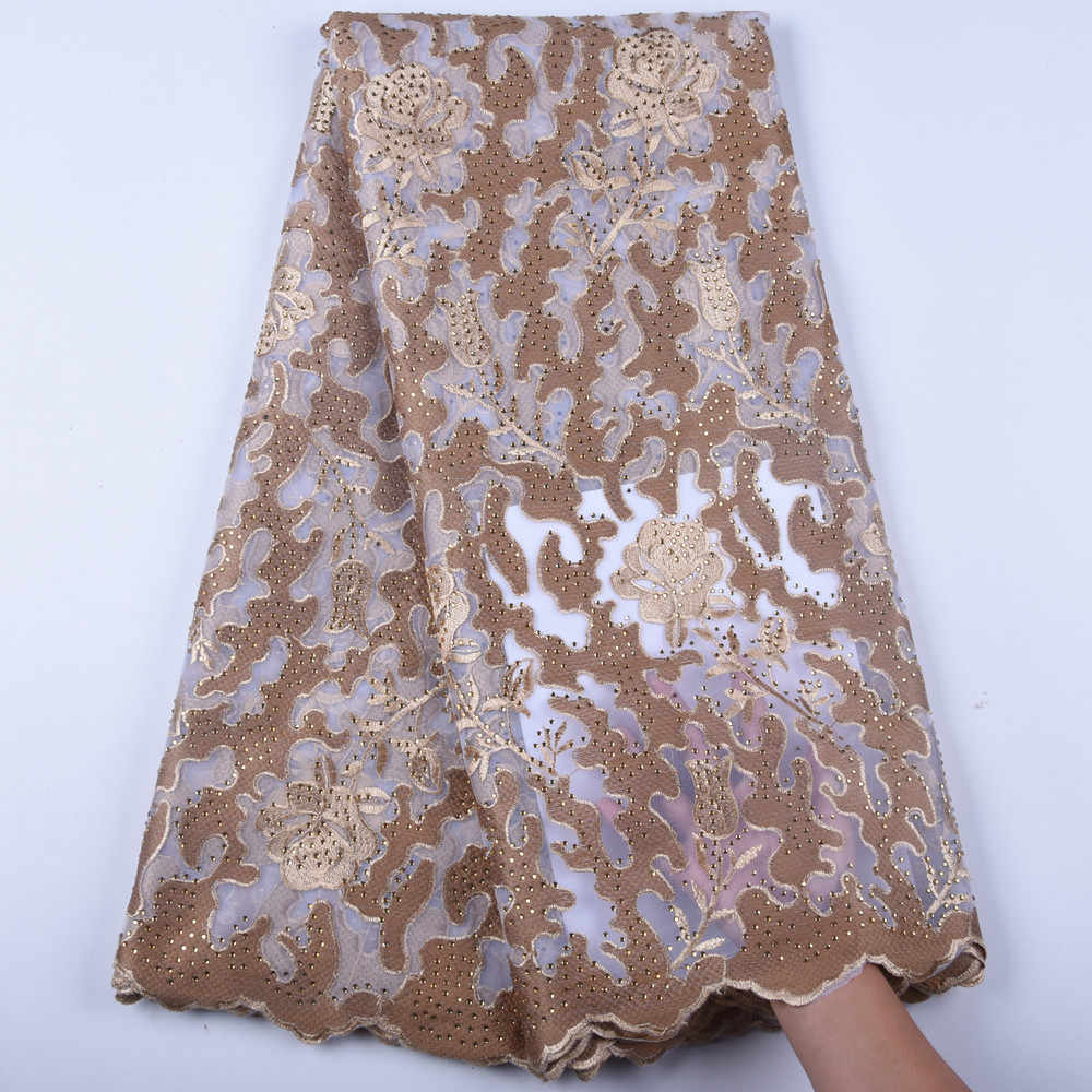 perfect for a Nigerian wedding. African Lace Fabric net lace French Lace LATEST