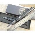 Frete grátis Multi-função faca, wilderness survival fuga lanterna defesa pen tool ferramentas de Auto de alumínio de Aviação