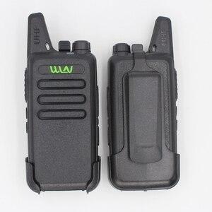 Image 2 - 6PCS Portatile Radio WLN di KD C1 Mini Wiress uhf Walkie Talkie ricetrasmettitore amatoriale radio portatile radio communicator рация
