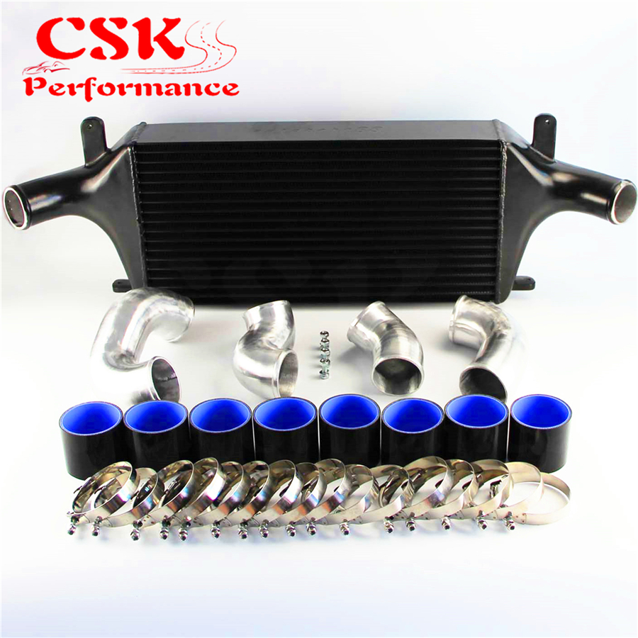Red Type-RS Turbo Blow Off Valve Bov 2.5/'/' Aluminum FMIC Intercooler Piping Kit