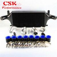 High Performance Upgrade FMIC Intercooler Kit Fits For Nissan Skyline R33 R34 GTR RB26DETT Black/Blue/Red