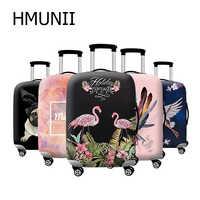 HMUNII nowy grubszy bagażu podróży walizka ochronna pokrywa dla tułowia przypadku stosuje się do 18 ''-32'' pokrowiec na walizkę elastyczne doskonale
