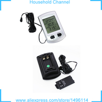 Multifunction Digital LCD Probe Fridge Freezer Thermometer Thermograph For Refrigerator 40 65 Degree Hot Sale FreeShipping