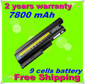 Jigu batería de 9 células para ibm lenovo thinkpad sl300 sl400 sl500 t500 r500 w500 r60 r60e r60i