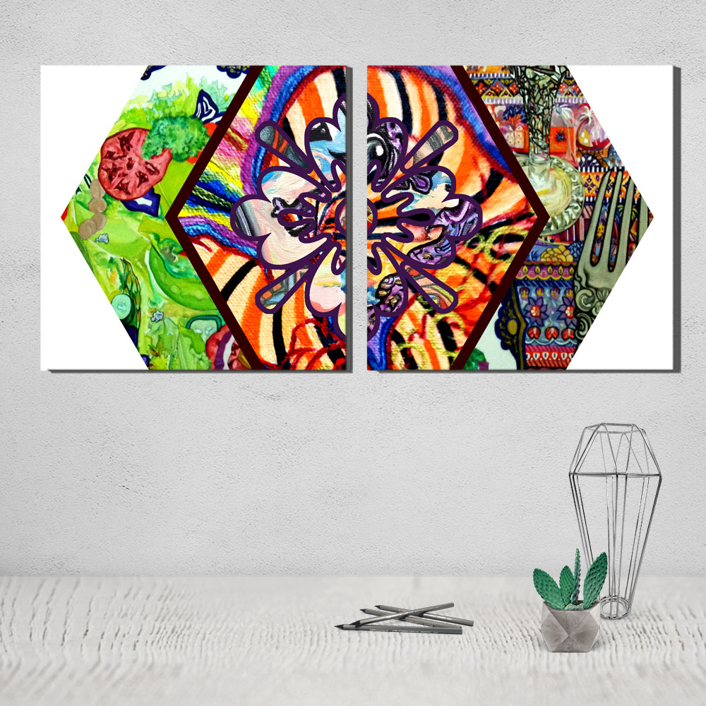 bohemian canvas painting canvas poster canvas pictures for the living room badkamer accesoires ramadan decoration painting pop 5