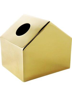 Couvercle accueil support sec mode Metel boite à mouchoirs lingette serviette distributeur de papier voiture décoratif Portable boîte de rangement en papier LY207