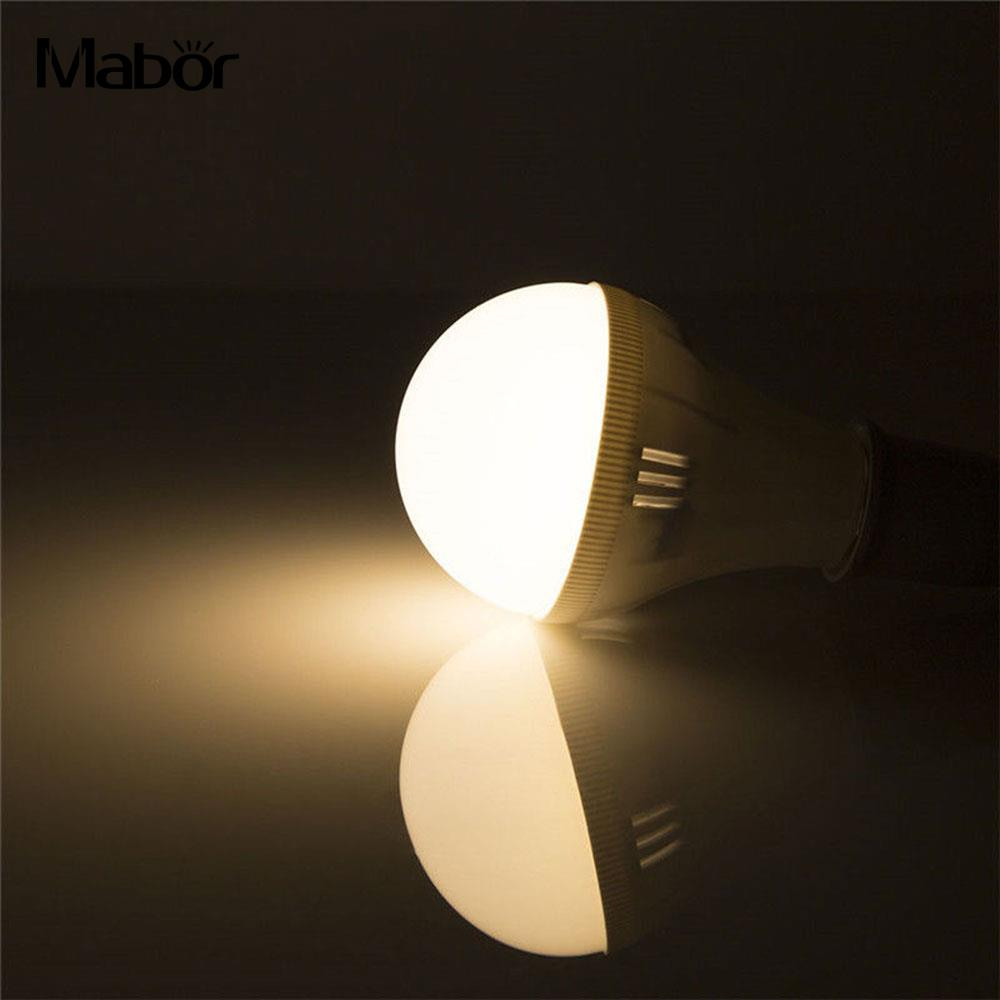 Mabor Home Room LED Bulb with Hook Durable Lighting Fixture Light Bulb Indoor Outdoor 800lm Smart