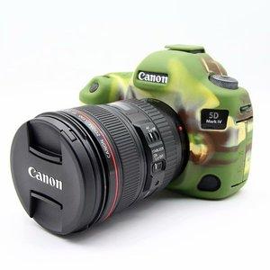 DSLR камера видео сумка Мягкий силиконовый резиновый защитный чехол для Canon 6D 6D2 5D4 1300D 1500D 77D 80D 650D 700D 5diii 5D3 6D2 7D2