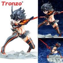 Figura de ação tronzo, figura de ação, anime japonês kill la kill, matoi ryuuko, figura pvc, modelo colecionável, boneca, brinquedos, guerreiro, meninas