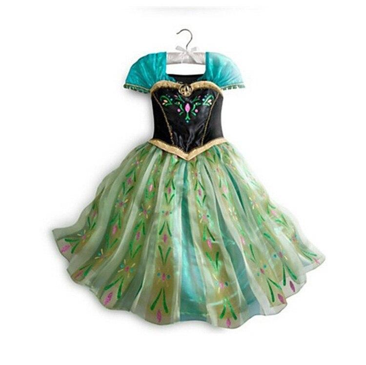 Ragazze Abiti di Moda Per Bambini Costumi Vestiti Da Partito Costumi Principessa 3-8 anni