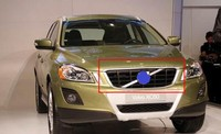 ABS Front Grille Around Trim Racing Grills Trim FIT For 2012 2013 VOLVO XC60 Car