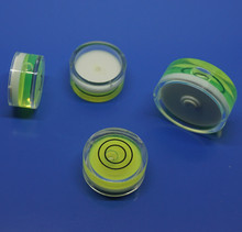 12mm*7.5mm Level Bubble Of Circular Plastic Vial Inclinometer Foot Fitting Nivel Burbuja Drop Free Shipping